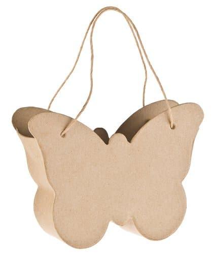 sac en carton papillon avec anses opitec. Black Bedroom Furniture Sets. Home Design Ideas
