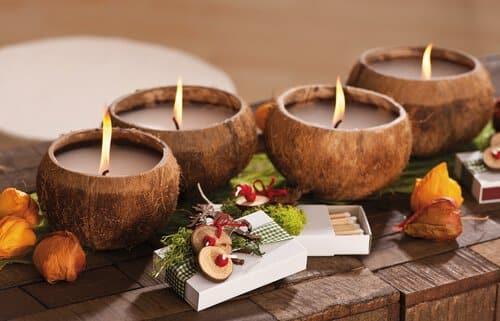 Decorare Candele Di Natale : Possibilità per decorare candele