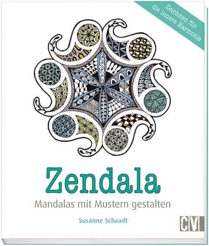 Spruche Buch Gestalten : Buch Zendala Mandalas mit Mustern gestalten  Opitec