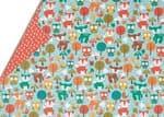 Cartón estampado - Animales del bosque
