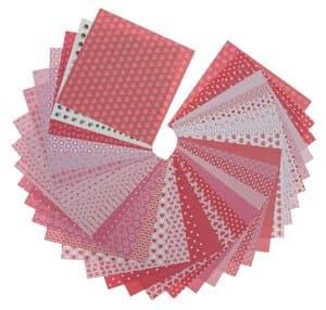 Origami Paper Set - Love, 20 x 20 cm