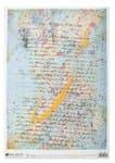 Decoupage-Papier, Letter (35 x 50 cm)