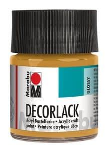 Vernice per decorazioni marabu, 50 ml,oro