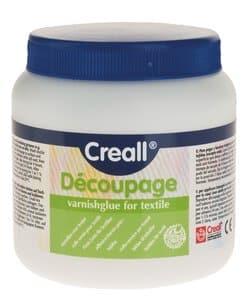 Découpage-Tex Creall, 250 ml Firnis Leim Textilien