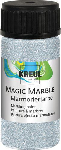 marmorierfarbe magic marble 20 ml glitzersilber opitec. Black Bedroom Furniture Sets. Home Design Ideas