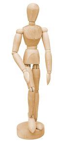 Muñeco articulado (30 cm)