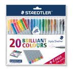 STAEDTLER� triplus� color fineliner, 26-delig