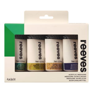 Strukturpasten Set Reeves, 4 x 75 ml