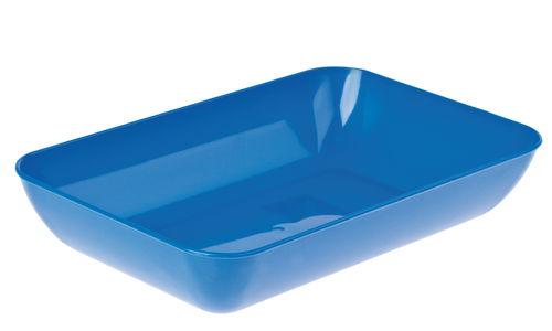 Bandeja de pl stico azul 23 x 15 cm opitec - Bandeja de plastico ...