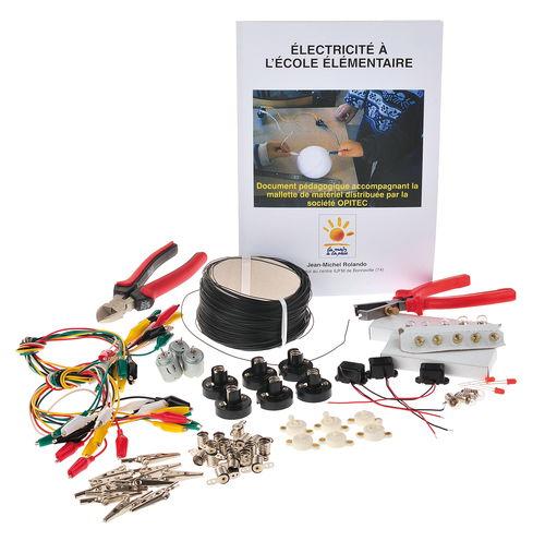 mallette electricite 98pcs set opitec. Black Bedroom Furniture Sets. Home Design Ideas