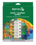 Reeves acrylverf set, 24 x 10 ml, per set