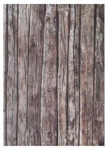 Cartoncino 'Ottica legno', 49,5x68cm, 1 foglio