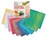 Iriserend papier, 50 vel assortiment
