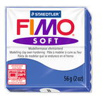 Fimo Soft, 56g, blu brillante