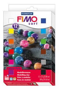 FIMO soft materiaalverpakking, 12 x 25 gram