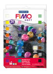 Fimo soft assortiment, 24 x 25 g
