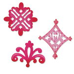 Schablonen Sizzix Sizzlits, Ornamente