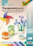 Transparentpapier, 10 Blatt sortiert (DIN A4)