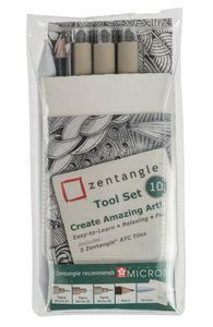 Kit para zentangle®, 10 piezas