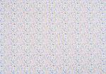 Cartoncino con motivi - fiori, 220 g/mq, blu