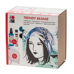 Marabu Trendy Beanie Textile Paint Set