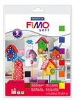 Set de base Fimo Soft, Contenu: 9 dem...,