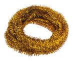 Escobillones (8 mm x 50 cm) color oro,  10 ud.