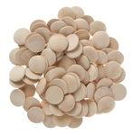 Holz-Buttons, 100 Stück (30 mm)
