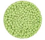 Rocailles opak (2,6 mm), 20 g lindgrün