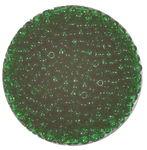 Rocailles transparent (2,6 mm), 20 g tannengrün