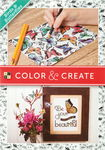 Motif block Color & Create - Birds & Butter...