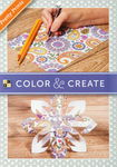Bloc de dibujo Color & Create - Pretty prints
