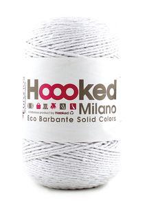Hoooked Eco Barbante, 200 g lotus (weiß)
