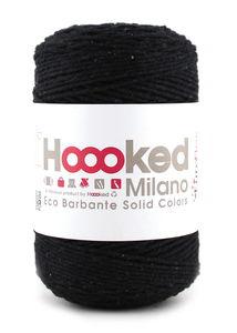 Hoooked Eco Barbante, 200 g schwarz