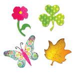 Sizzix Bigz Die - Butterfly,flower,leaf & Shamrock
