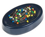 Magnetic cushion for pins