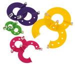 Pompon-Set, 4 misure diverse
