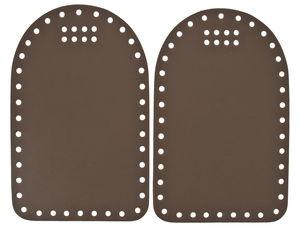 Parois latérales pour sac, Dim. ..., brun