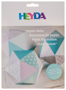 Papier set 'Fancy Diamonds' mint, 6 stuks