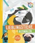Livre (en allemand) Animaux géométriques -...