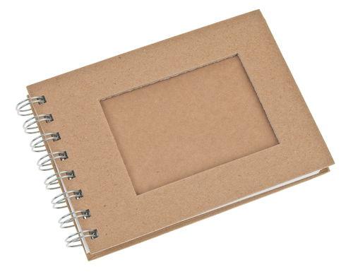 paper art album with 30 sheets din a6 opitec