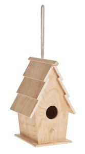 Nichoir décoratif en bois, A suspendr...,
