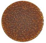 Rocailles transparent (2,6 mm), 20 g bernstein