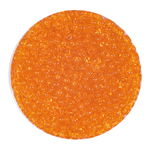 Rocailles transparent (2,6 mm), 20 g orange