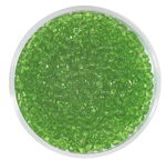 Rocailles transparent (2,6 mm), 20 g lindgrün