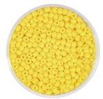 Rocailles opak (2,6 mm), 20 g sonnengelb