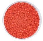 Rocailles opak (2,6 mm), 20 g rot