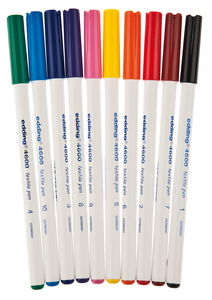 Edding 4600 T-Shirt Pen, 10er Set
