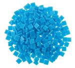 Mosaik-Glassteine, 300 Stück himmelblau (10x10mm)