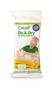 Creall Do&Dry-pasta modellabile leggera, bianco